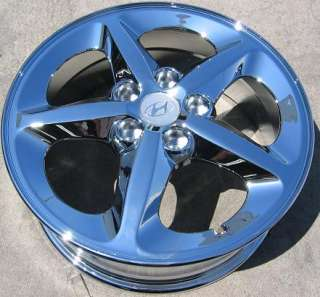 NEW 17 FACTORY HYUNDAI SONATA OEM CHROME WHEELS RIMS 2006 2011
