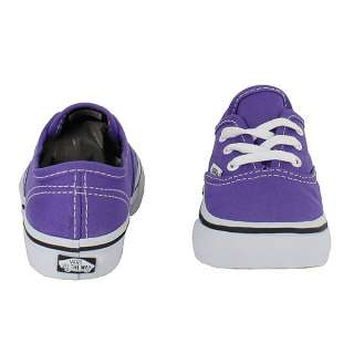 VANS AUTHENTIC PURPLE PASSION FLOWER TODDLERS US SIZE 6, 11 CM