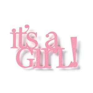 Embellish Your Story Its A Girl Word Magnet Everything