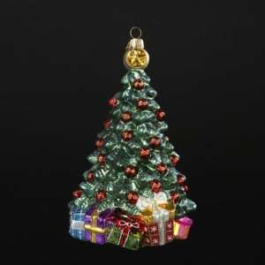 Tree with Presents Polonaise Christmas Ornament 6.7