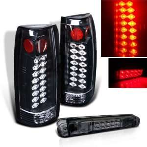 98 Sierra Suburban C10 LED Tail Lights + LED Brake Light Automotive