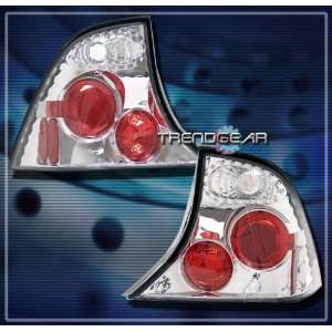 Ford Focus 4Dr Tail Lights Chrome Clear Altezza Taillights