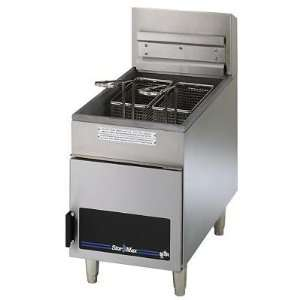 Star Commercial Gas Counter Fryer   18 Lb Oil Capacity