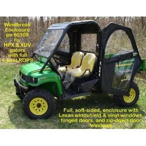 John Deere XUV & HPX Gator Windbreak Enclosure Toys