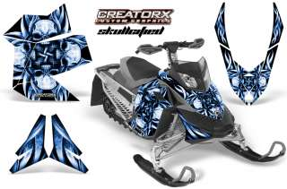 SKI DOO REV XP SNOWMOBILE SLED GRAPHICS KIT DECAL SFBL