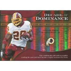 of Dominance Gold #DDCP Clinton Portis /130 Sports Collectibles
