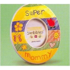 Russ Mini Magnet Photo Frame Super Mommy