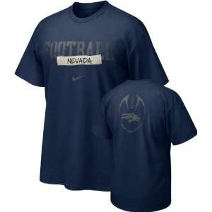 Nevada Wolf Pack Nike 2009 Team Issue Football Sideline