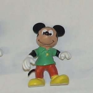 GERMAN BULLY PVC DISNEY MICKEY MOUSE /GREEN SHIRT
