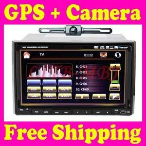 HD LCD PIP GPS NAV 2 Din 7 Car Stereo DVD Player Radio Ipod TV