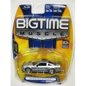 Jada Dub City Big Time Muscle Silver 2008 Shelby GT 500KR