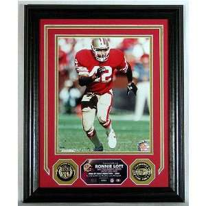 Highland Mint San Francisco 49ers Ronnie Lott Photomint
