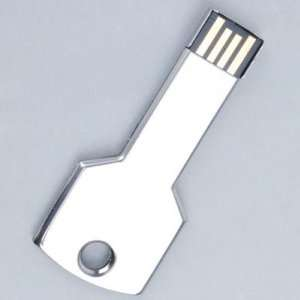 8G USB 2.0 Metal Key Shape Flash Memory Drive U Disk