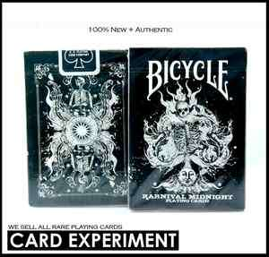 BICYCLE KARNIVAL MIDNIGHT PLAYING CARDS DECK MAGIC bee