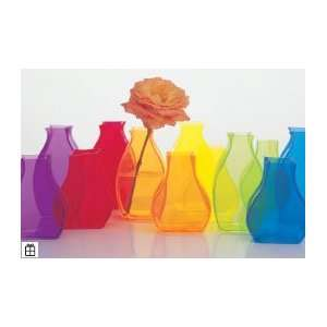 Lookers Rainbow Short Hourglass Sky Vase