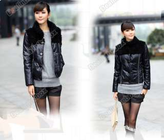 Womens Korea Vogue Wistiti Short Beautiful Slim Fit Cotton Quilted