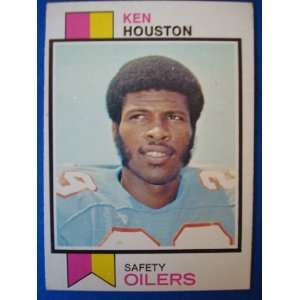 1973 Topps Football Trading Card Houston Oilers Ken Houston #415