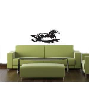 HUNTING DOG DEER DUCK Wall MURAL Vinyl Decal Sticker 04