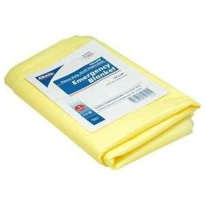 Emergency Blanket, Yellow, Heavy Duty, Fluid Impervious 50