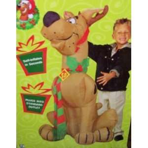 4ft Gemmy Airblown Inflatable Christmas Scooby Doo w