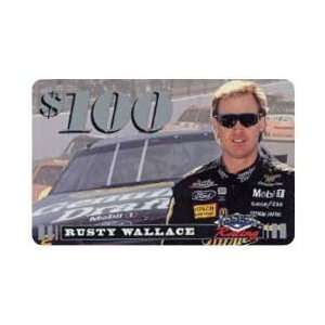 Assets Racing 1995 $100. Rusty Wallace (Miller, McDonalds) SAMPLE