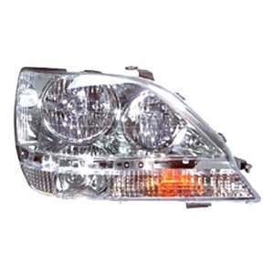 OE Replacement Lexus RX300 Passenger Side Headlight Assembly Composite