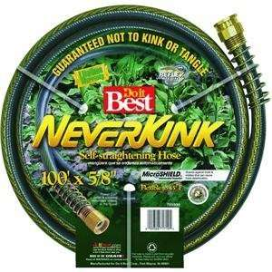 Heavy Duty Garden Hose, 100 NEVERKINK HOSE Patio, Lawn & Garden