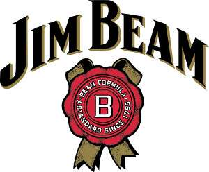 JIM BEAM 2 Cornhole Game Decal Stickers 18w FULL COLOR