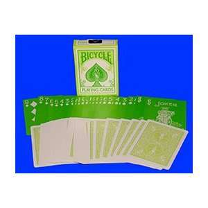 Bicycle Reverse Deck Green rare magic tricks color card