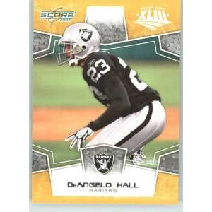 DeAngelo Hall   Oakland Raiders   NFL Trading Card in a Prorective