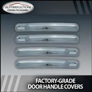 Chevy Silverado pickup Chrome Door Handle Covers (4dr handles only