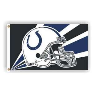 Indianapolis Colts   3 x 5 NFL Polyester Flag Patio, Lawn & Garden