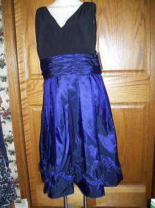 Jessica Howard Womens Size 16 Prom Cruise Cocktail Dress Black