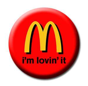 McDonalds Logo   Souvenir Collectibles Fridge Magnet