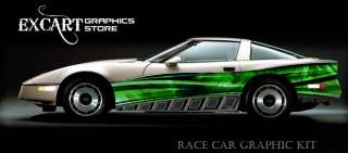 RACE CAR GRAPHICS Vinyl Decal IMCA Late Model Racing ##