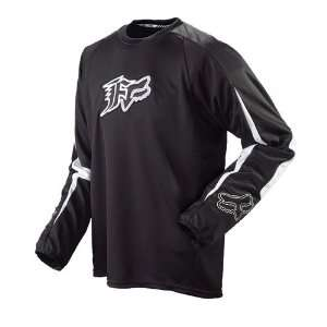 Fox Racing Shortcut Jersey   Small/Black Automotive