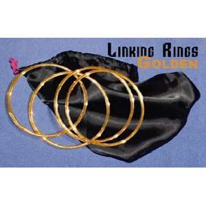 Linking Rings   Golden   Close Up / General Magic Toys