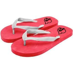 Louisville Cardinals Red Shower Flip Flops Sports