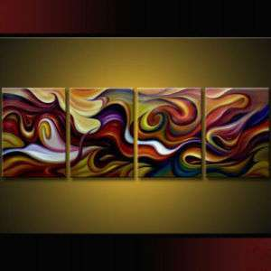 ORIGINAL Huge Modern Art Oil PAINTING Abstract Canvas