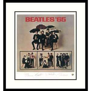 The Beatles Beatles 65 (album cover) Framed Print by