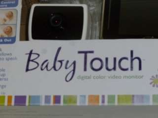 NEW Summer Infant Baby Touch Digital Color Video Monitor Zooms