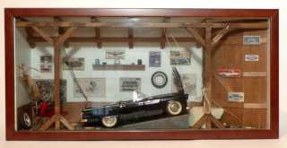 Danbury Mint 1955 Ford Thunderbird Shadowbox   118th Scale   Mint in