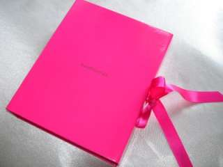 Bare Escentuals minerals~HOT PINK GIFT BOX WITH RIBBONS