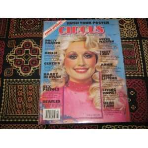 Circus Magazine (Dolly Parton , Rush Tour Poster , Kiss