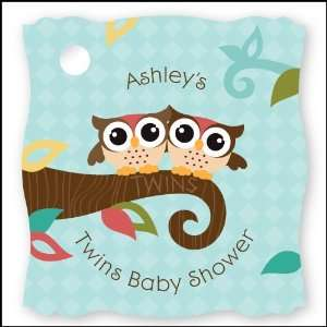 Owl   Look Whooos Having Twins   20 Personalized Baby