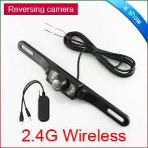 GPS Wireless Car Rear View Reversing Camera Monitor