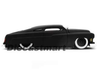 JADA DUB CITY 118 1951 MERCURY NEW DIECAST MODEL CAR MATTE BLACK W