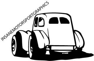 Legend Race Car Vinyl Graphic Decal