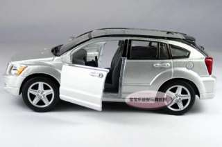 New Dodge Caliber 134 Alloy Diecast Model Car Silver B365