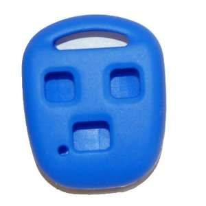 2007 Toyota Landcruiser Silicone Rubber Remote Cover Blue Automotive
